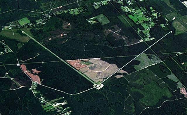 LIGO aerial view