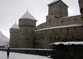 Chillon castle, Montreaux, Geneva