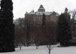 The Château-de-Blonay near Vevey, Geneva