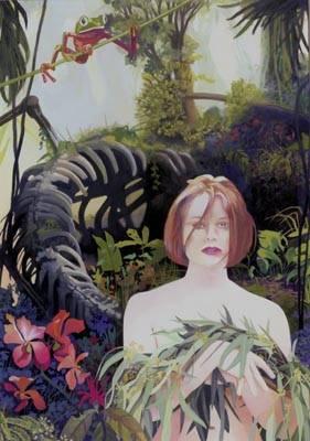 Painting - Jodie