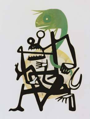 Painting - Shetani Lovers