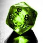 A random number generator in the form of a multi sided dice