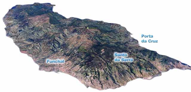 Madeira - Map