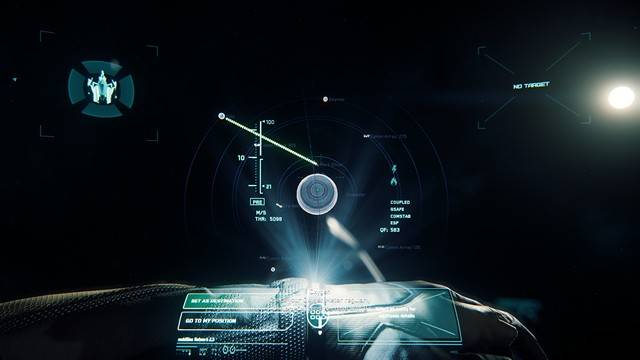 Star Citizen select a destination