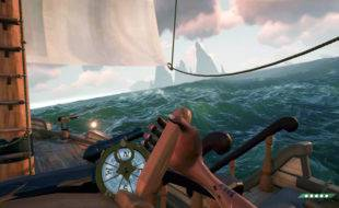 Capsizing the Sloop in Sea of Thieves