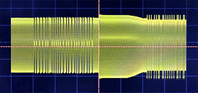 A screenshot from EEVBlog''s contactless smart card video