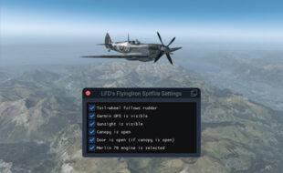 A FlyingIron Spitfire Settings Utility